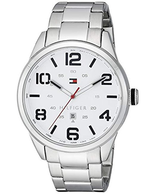 237142e92 Tommy Hilfiger - Metallic 1791118 Sophisticated Sport Watch With Brown  Leather Band for Men - Lyst ...