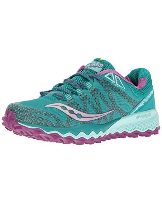 c326661c8c46 Saucony - Multicolor Peregrine 7 Trail Running Shoe - Lyst ...