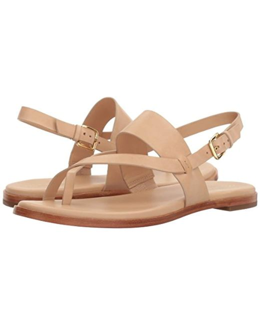 9ea7bbeb44e ... Cole Haan - Natural Anica Thong Sandal (nude) Women s Dress Sandals ...