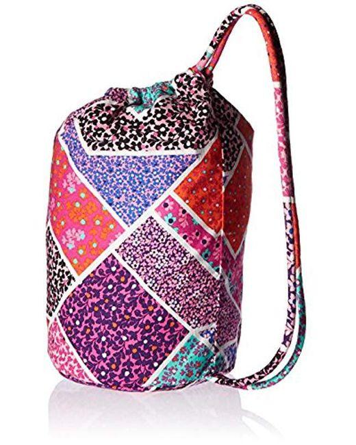 ... Vera Bradley - Multicolor Iconic Ditty Bag - Lyst ... 47744f002ff78