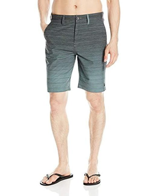 Billabong - Blue Crossfire X Fade Stretch Submersible Short for Men - Lyst