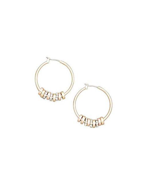 Kenneth Cole - Metallic New York Gold-tone Multi Hoop Earring - - Lyst
