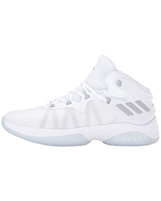 69a3929c4 Lyst - adidas Explosive Bounce Running Shoe in White for Men - Save ...