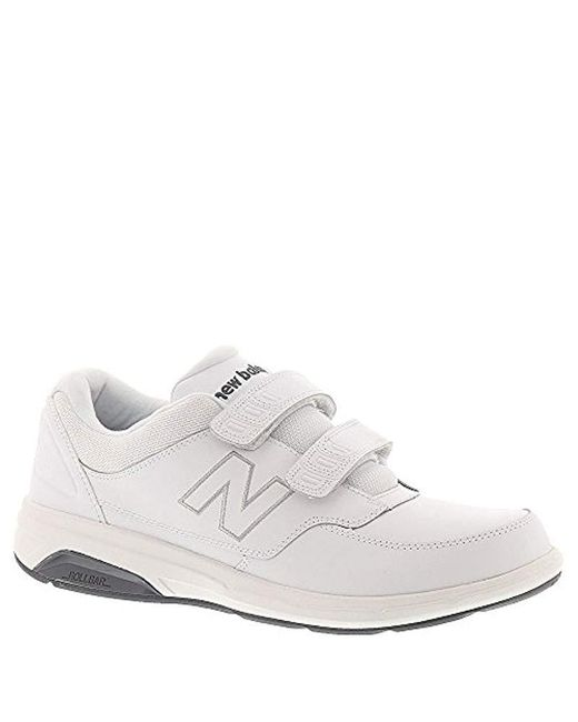 New Balance - Mw813 Hook And Loop (white) Men's Walking Shoes for Men - Lyst