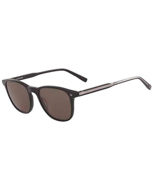 7e9637bad32d3 Men's L602snd Rectangular Sunglasses, Black, 51 Mm