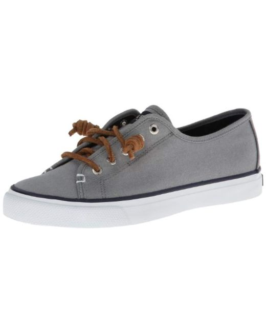 Sperry Top-Sider - Gray Seacoast Core Canvas Loafer - Lyst