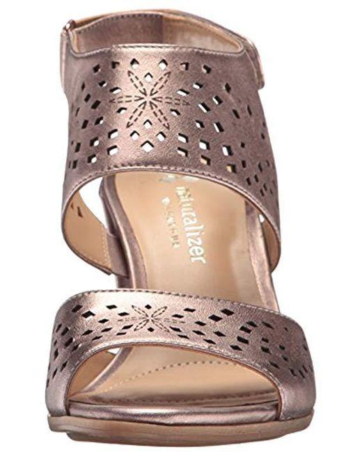 f566c25d3068 ... Naturalizer - Multicolor Zinna Dress Sandal - Lyst ...
