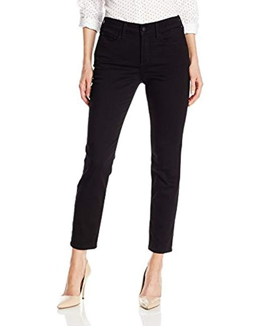 NYDJ - Black Clarissa Skinny Ankle Jeans In Luxury Touch Denim - Lyst