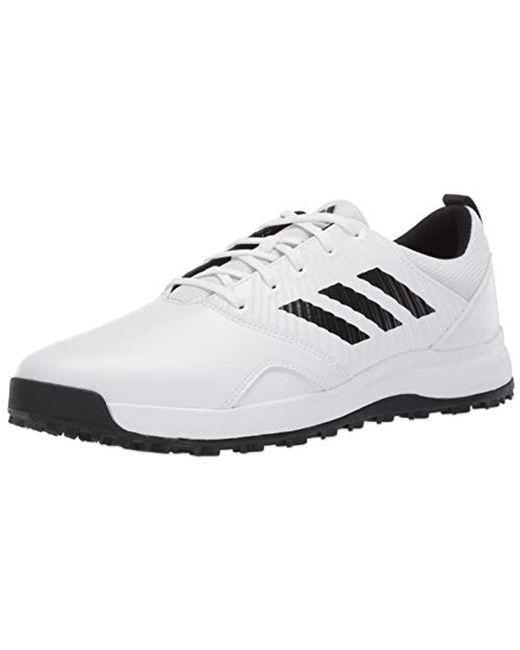 b46df593fca Adidas - White Cp Traxion Sl Golf Shoe for Men - Lyst ...