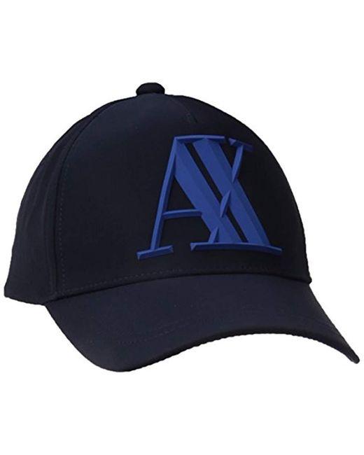 Armani Exchange - Blue   3d Rubber X Tonl Logo for Men - Lyst