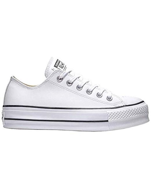 2converse chuck taylor all star lift clean