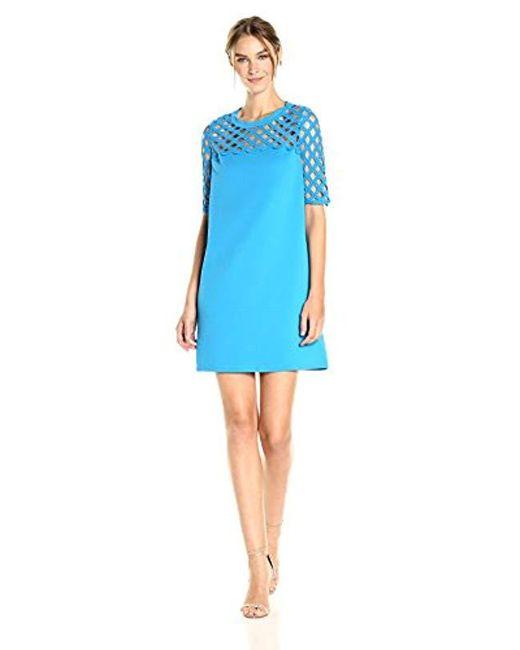 Catherine Malandrino - Blue Rue Dress - Lyst