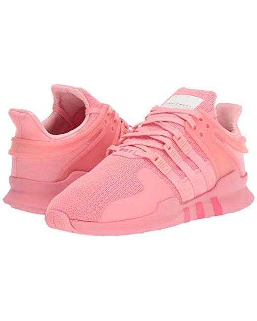 sports shoes bee13 cb1f5 Women's Pink Eqt Support Adv, Super Pop/white, 9 M Us