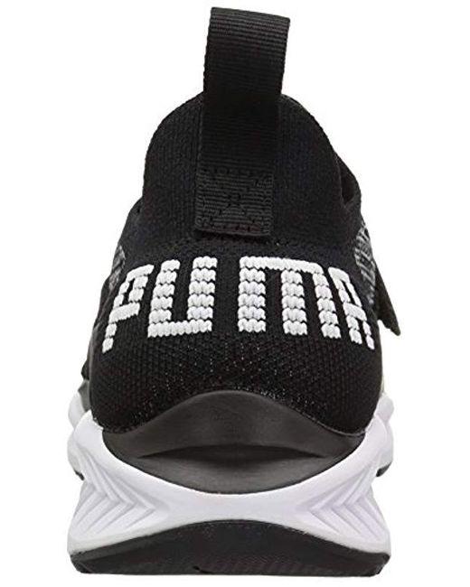 3b1c9122016627 Lyst - PUMA Ignite Evoknit Lo 2 Wn Sneaker in Black - Save 62%