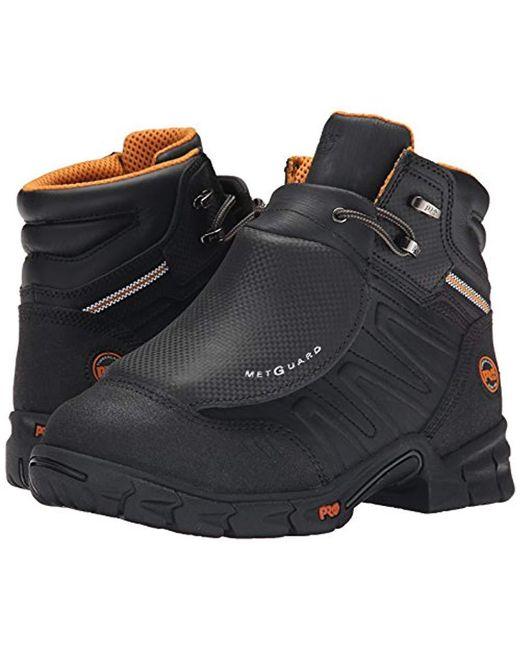 c5aa14a112894 ... Timberland - Black Excave External Met Guard Work Boot for Men - Lyst  ...