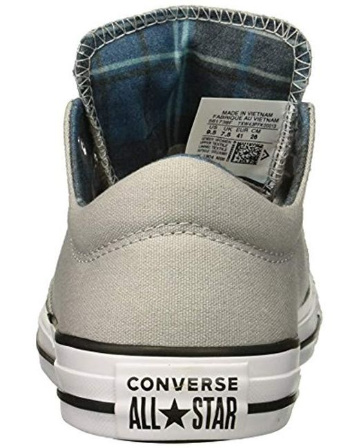 84d97f3e4021 ... Converse - Gray Chuck Taylor All Star Madison Low Top Sneaker - Lyst ...
