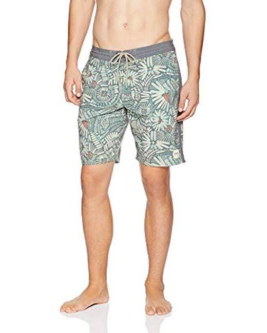 O'neill Sportswear Multicolor 19 Inch Outseam Cruzer Stretch Swim Boardshort for men