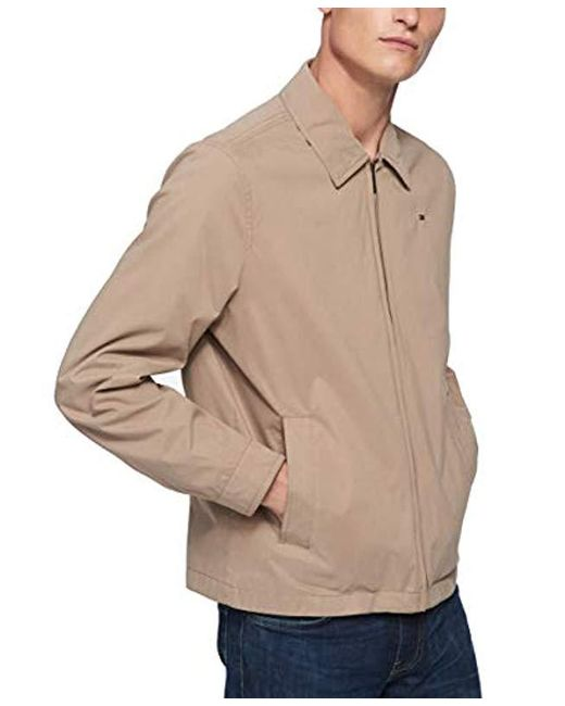 fbe01001 ... Tommy Hilfiger - Multicolor Lightweight Microtwill Golf Jacket for Men  - Lyst ...