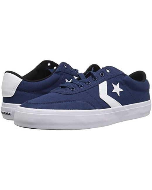 d8fec669d695 ... Converse - Blue Courtlandt Low Top Sneaker for Men - Lyst ...