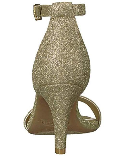 7ddadfaaa1f6 ... Aerosoles - Metallic Laminate Dress Pump - Lyst ...