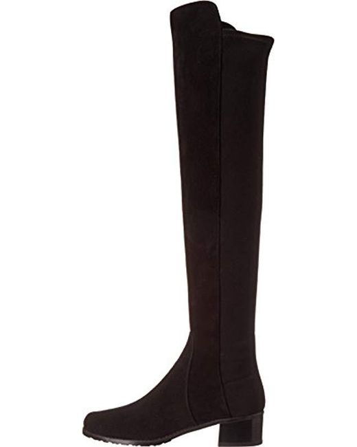 e2835a5d285 Lyst - Stuart Weitzman Reserve Boot in Black - Save 5.755395683453244%