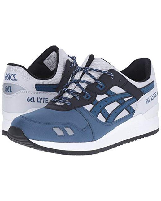 a2e8f1b0009a ... Asics - Gray Gel-lyte Iii Retro Sneaker for Men - Lyst ...
