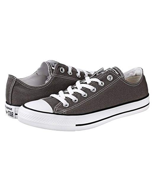 9bd9c1654c2dd5 Lyst - Converse Chuck Taylor All Star Canvas Low Top Sneaker ...