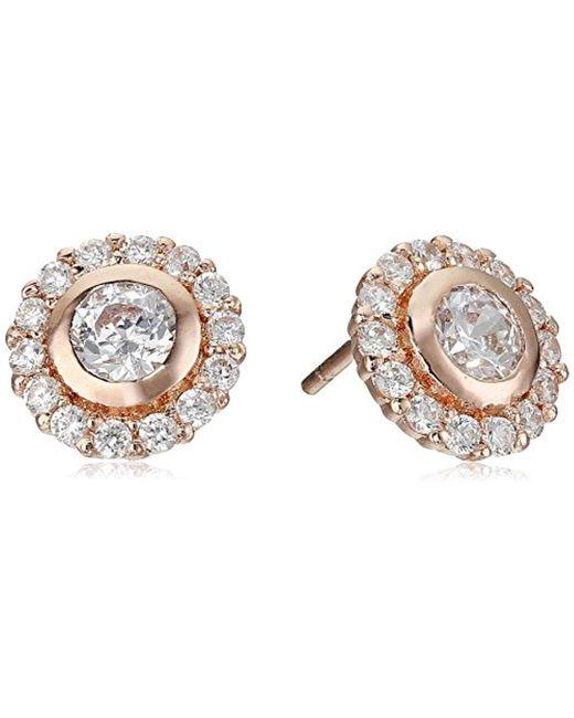 Nina - Metallic S Ingram Earrings - Lyst