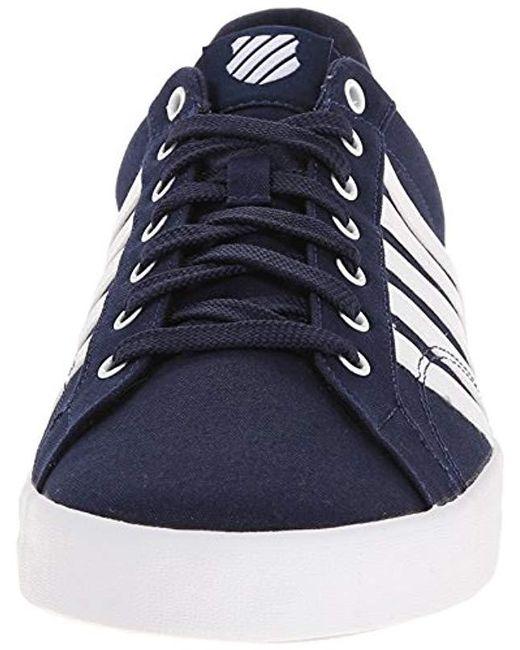 9396b0d31d9016 Lyst - K-swiss Belmont So T Fashion Sneaker in Blue for Men - Save ...