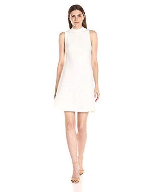 Theory - White Ineeta Milano Knit Dress - Lyst
