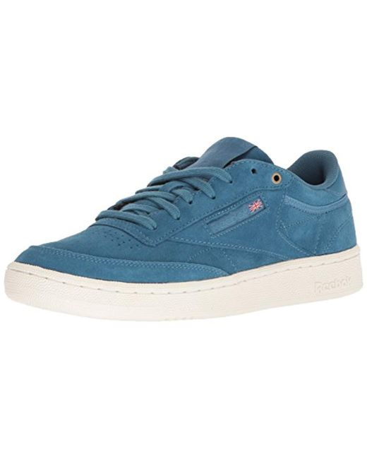 9ff4684744775 Lyst - Reebok Club C 85 Mcc Sneaker in Blue for Men - Save 46%