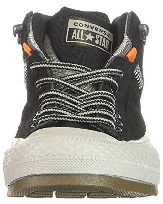 08fa26b70c5 ... Converse - Chuck Taylor All Star Street Boot - Hi (black black dolphin  ...