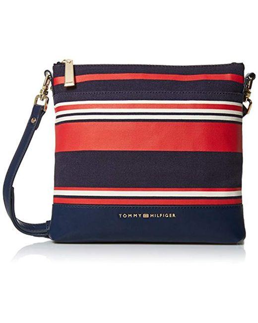 e5782990fc Tommy Hilfiger - Blue Crossbody Bag For Maisie - Lyst ...