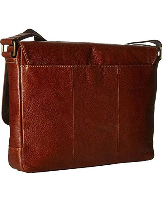 ... Fossil - Brown Defender Ew City - Lyst ...