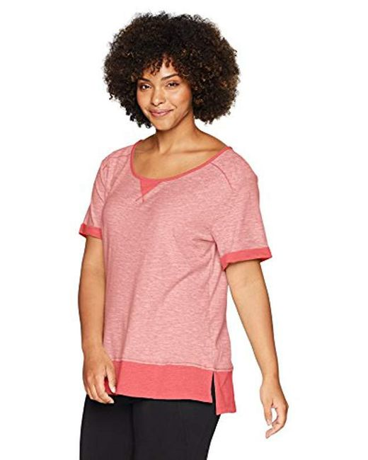 Columbia - Pink Plus Size Easygoing Lite Tee - Lyst