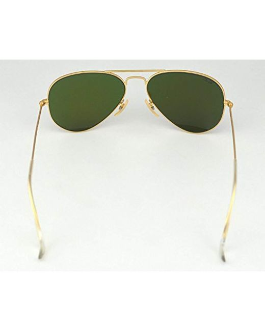 def1d0f93788a ... Ray-Ban - Blue Rb3025 58 Original Aviator Mirror Collection for Men -  Lyst ...