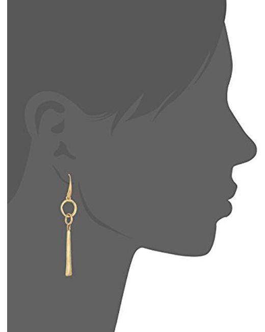 The Sak - Metallic Linked Linear Drop Earrings - Lyst