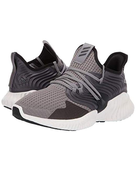 new arrival 9f26b 1ea3a ... Adidas - Gray Alphabounce Instinct Cc for Men - Lyst ...