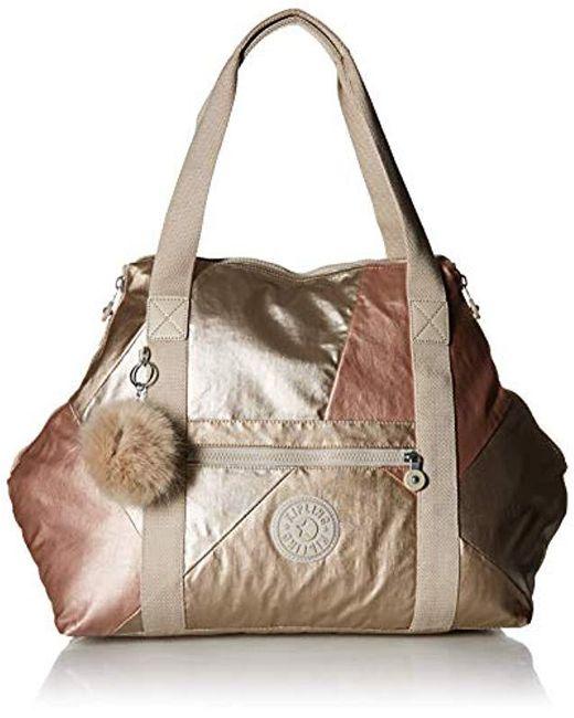 f64f58c62137 Lyst - Kipling Womens Art Medium Tote Bag in Metallic - Save 40%