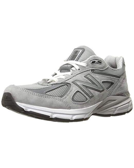 New Balance - Gray W990v4 (lake Blue/lake Blue) Women's Running Shoes - Lyst