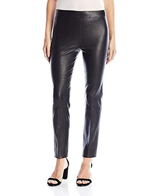 Vince - Black Stitch Front Seam Legging - Lyst