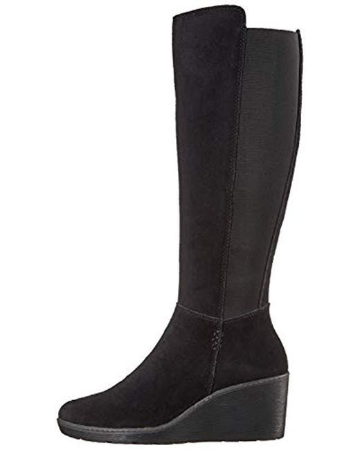2a30c7bc850e Lyst - Clarks Hazen Madison Fashion Boot in Black - Save 17%