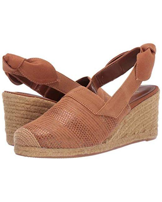 4fe9100a425 Lyst - Lauren by Ralph Lauren Helma Espadrille Wedge Sandal in Brown