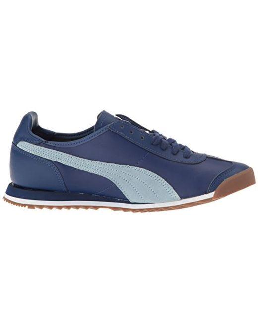 3aca07faf04111 ... PUMA - Blue Roma Og 80s Fashion Sneaker for Men - Lyst ...