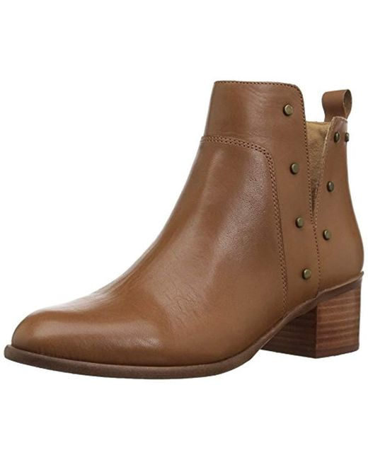 Franco Sarto - Brown Richland Ankle Boot - Lyst