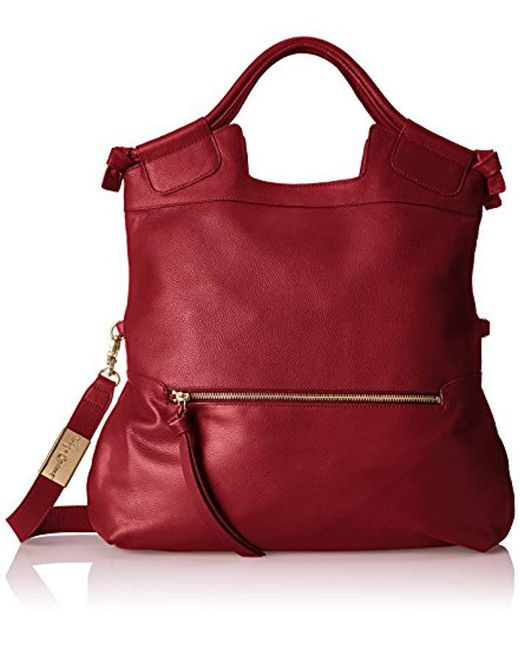 Foley + Corinna - Red Mid City Tote Cross-body Bag - Lyst