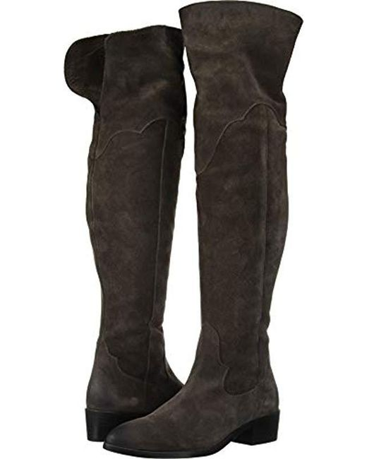 3ffaa108104 Lyst - Frye Ray Otk Over The Knee Boot in Black - Save 62%