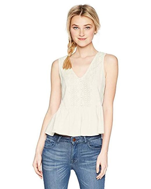 Roxy - White First And Only Top - Lyst