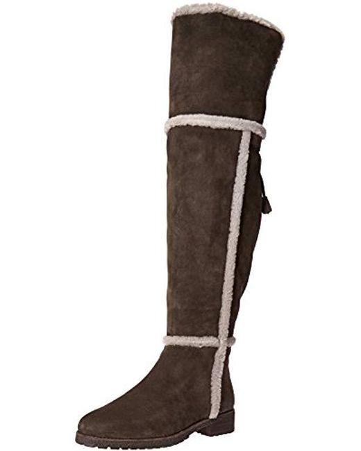 1ea2a79b61e Lyst - Frye Tamara Shearling Otk Winter Boot in Brown - Save 20%