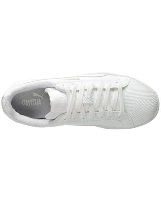ab9d1fbacb78db Lyst - PUMA Smash Deboss Fashion Sneaker in White for Men - Save ...